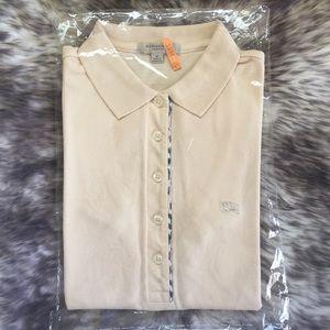 Authentic Burberry Women's Icon Cotton Polo Shirt